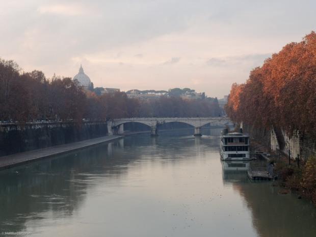 Tiber River.