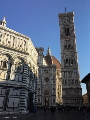 Visiting one of my favorite places - the Piazza del Duomo.