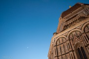 Dusk in Piazza del Duomo.