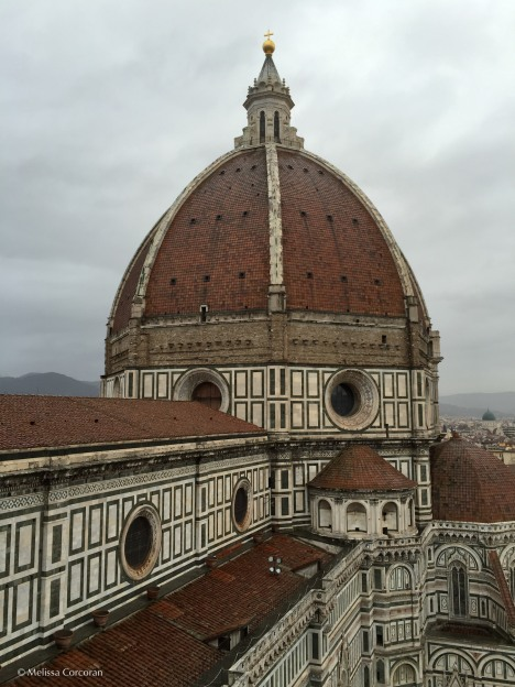 The Duomo from the top of the bell tower.