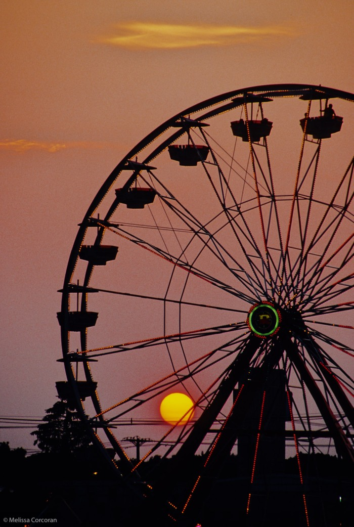 Brockton: country fair ferris wheel