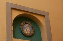 Wall shrine in Pistoia.