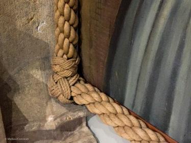 Rope frame.