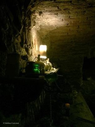 Underground at the Speculum Alchemiae.