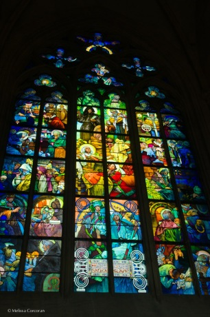 The Mucha window.