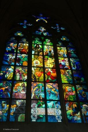 The Mucha window.