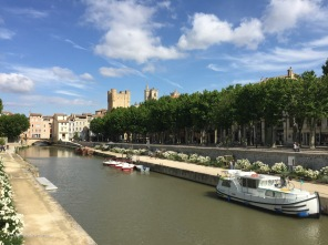 When I left Narbonne, this part of the esplanade was under construction. It was great to see it completed.