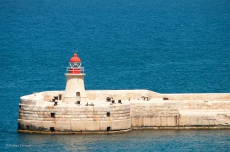 Ricasoli Lighthouse on the Grand Harbor.
